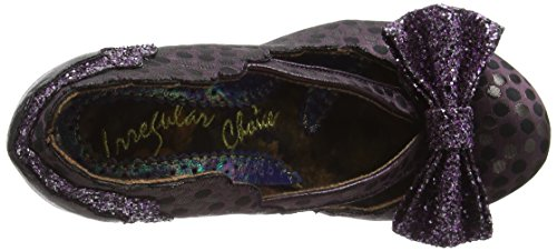 Irregular Choice Curtain Call, Zapatos de Tacón Mujer Morado