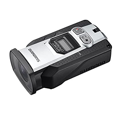 Shimano CM-2000 Data Linked Wi-Fi Ultra HD Sports Action Camera Waterproof Camcorder, Black