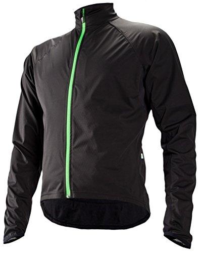 Cannondale Men's Sirocco Wind Jacket, Black, X-Large