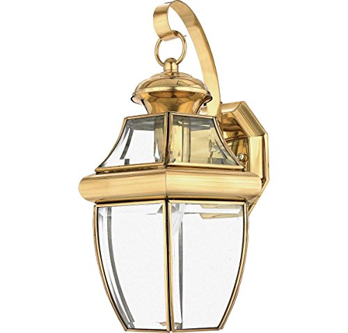 Outdoor Wall Light Polished Brass in Florida - 2
