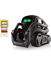 Anki Vector Robot, A Home Robot Who Hangs Out & Helps Out, with Amazon Alexa Built-in with Bonus Treads (Vector+8 Treads)