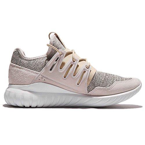 Adidas Heren Buisvormige Radiale, Bruin / Zwart / Wit Bruin / Zwart / Wit