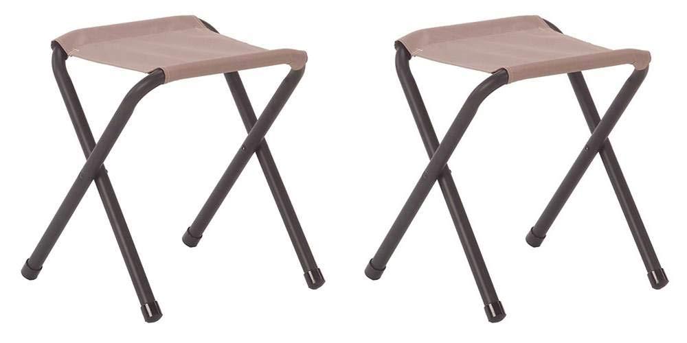 (2) COLEMAN Portable Outdoor Camping & Hunting Rambler II Folding Chair Stools