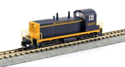 (Kato USA Model Train Products EMD NW2#2403 Santa Fe N Scale Train )