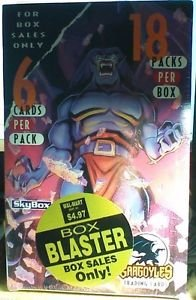 SkyBox Disney Gargoyles Trading Card Factory Box - 18 Packs - Box Blasters Edition (6 Cards Per Pack) 1996