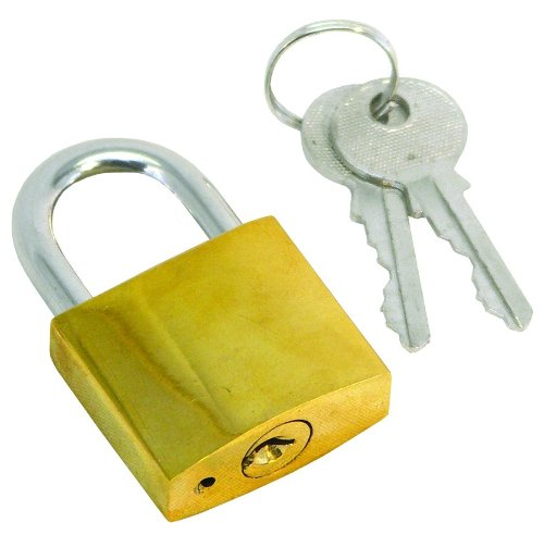 Invincible Marine 1-1/4-Inch Brass Padlock by Invincible Marine