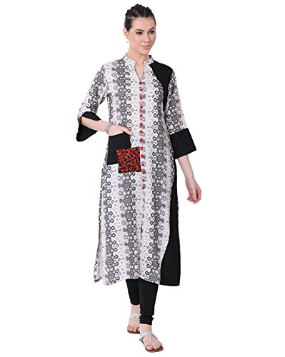 Pakistani Clothes - Lagi Kurtis Ethnic Women Kurta Kurti Tunic Digital Print Top Dress Casual Wear New Launch