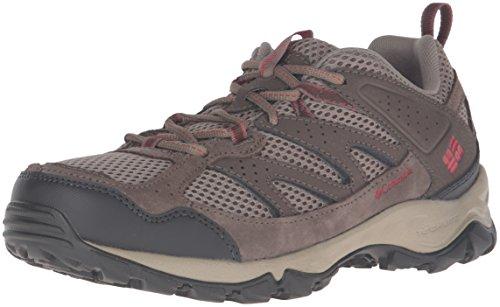 Columbia Women's Plains Ridge Wmns Low Hiking Shoes, Pebble/Burnt Henna, 8.5 B US