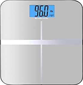 BalanceFrom High Accuracy Premium Digital Bathroom Scale with 3.6