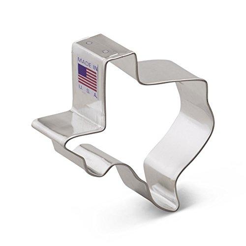 - Ann Clark Texas Cookie Cutter - 3 Inches - Tin Plated Steel