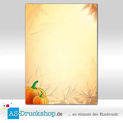 Diseño Papel calabaza - Shabby Chic/25 hojas/DIN A4/90 g de ...
