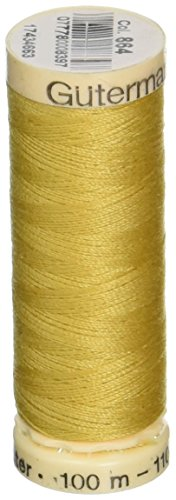 Gutermann Sew-All Thread, 110-Yard, Dark Goldenrod