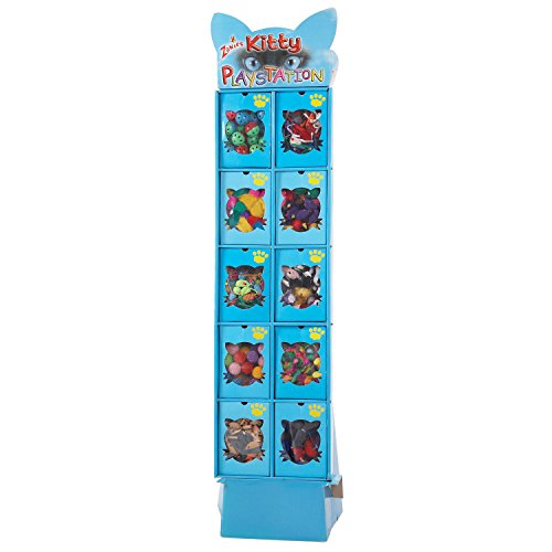 Zanies Kitty Playstation Cat Toys Display Boxes