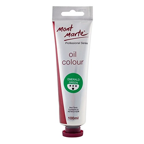 Mont Marte Oil Paint 100mls - Emerald Green