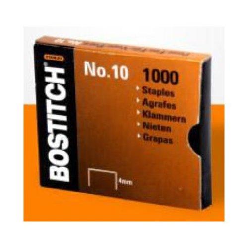 1000/pezzi misura 9/x 4/mm Bostitch no/ /1/m graffette per HP10 /quantit/à di 10/