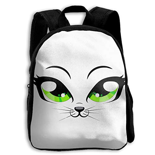 Crazy Popo Baby Boys Girls Toddler Cat Eyes Pre School Backpack School Bag ()