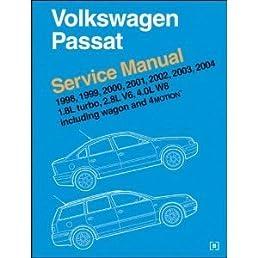 volkswagen passat service manual 1998 2004 including wagon and rh amazon com vw passat v5 service manual 2014 Volkswagen Passat