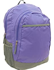 Crckt Purple Lavender with Gray Accent Backpack Travel Back Pack School Day Pack