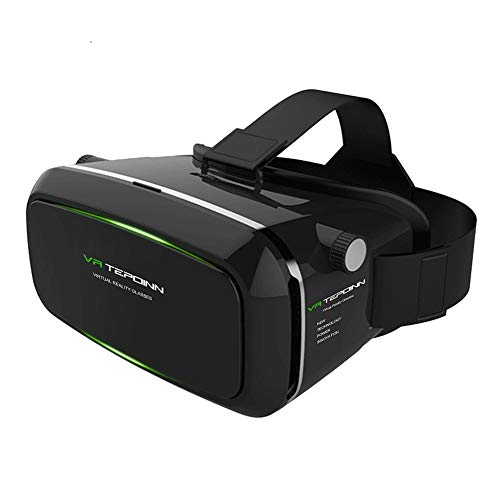 VR Headset TEPOINN Virtual Reality Headset for iPhoneX/ 8/ 8plus/7/7plus/6/6plus/6s/5, Samsung, LG & All Android Smartphone With Magnetic Front Cover, Adjust Strap by tepoinn (Image #7)