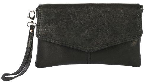 "Emmy accessoires ""Sarandon"" Clutch/ Abendtasche Echt-Leder, 22x14 cm (B x H)"