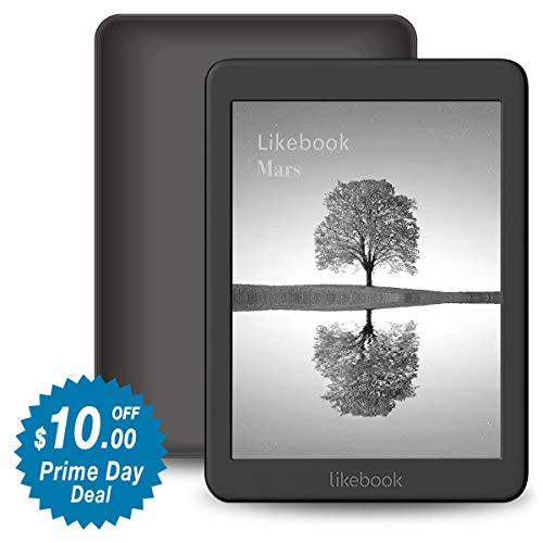Likebook Mars E-Reader, 7.8' Carta Touch Screen,300PPI, 8Core Processor,Adjustable Built-in Warm/Cold Light, Built-in Audible, Android 6.0, Support Google Play Store 16GB (Best Ebook Reader For Iphone)
