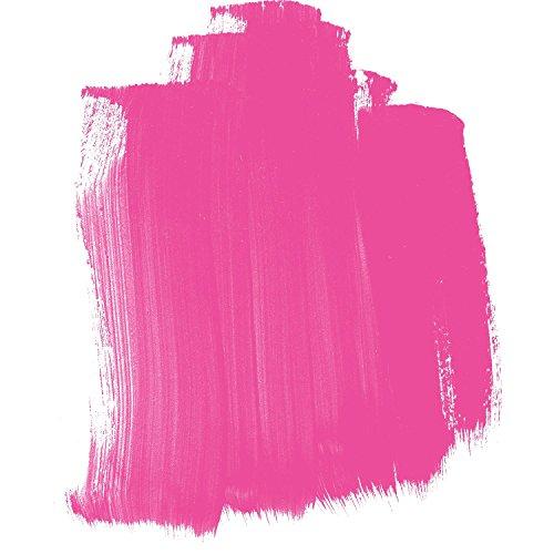 4oz. High Flow Acrylic Paint Color: Fluorescent Pink