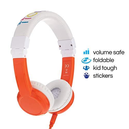 ONANOFF BuddyPhones Explore Foldable - Kids Volume Limiting Headphones -...