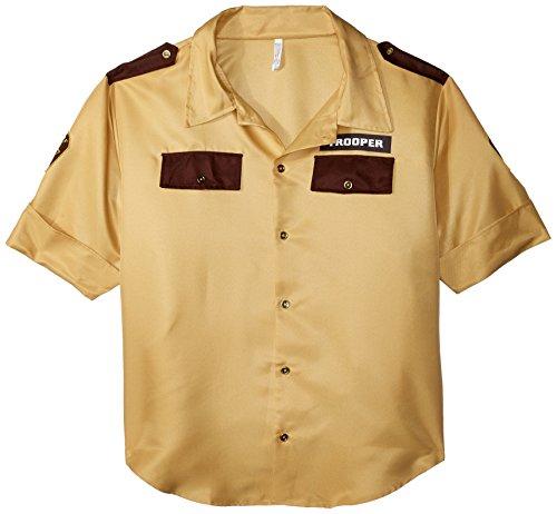 Amscan Sheriff Shirt - Adult Standard -