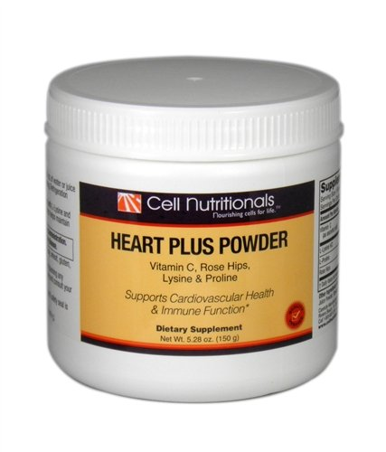 Heart Plus Powder Vitamin C, Rose Hips, Lysine & Proline **Use within 40 days of opening**