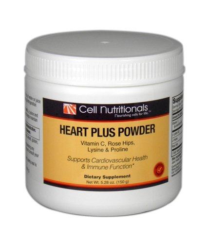 Heart Plus Powder Vitamin C, Rose Hips, Lysine & Proline **Use within 40 days of opening** ()