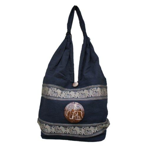 diseño nbsp; Marchas bolsa de hippie Thai de bordado elefante wHAqRPRI