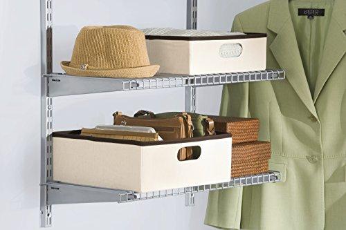 Rubbermaid Configurations Custom Closet Nestable Bins, 3F27