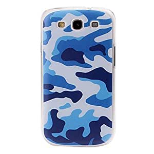 Buy Blue Camouflage Pattern Plastic Case for Samsung Galaxy S III/i9300