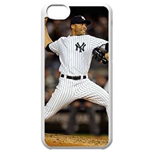 MLB Iphone 5C White New York Yankees cell phone cases&Gift Holiday&Christmas Gifts NBGH6C9125754