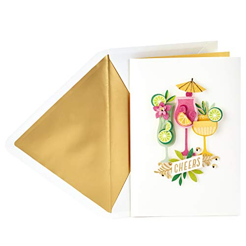 Hallmark Signature Birthday Card or Mother's Day Card -