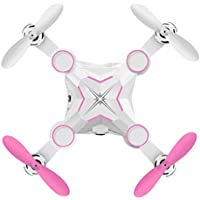 Owill M1 Mini Foldable 2.4G 4CH 6Axis RC 3D Roll A key return Quadcopter Drone ABS Fuselage (Pink)