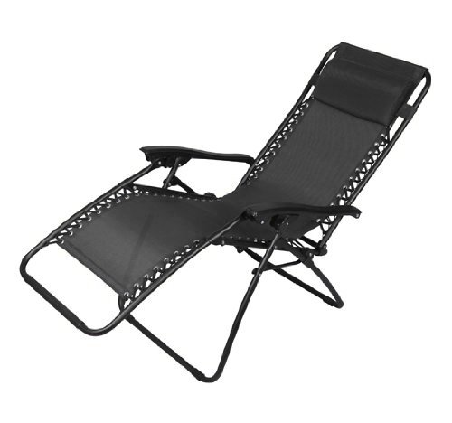 Xtremepowerus Zero Gravity Chair Adjustable Reclining