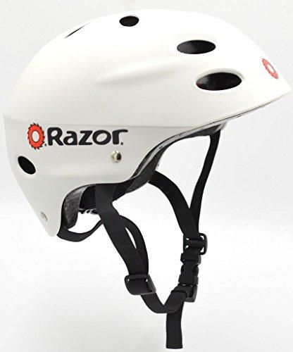 Razor V-17 Youth Multi-Sport Helmet Teen Protection Safety White
