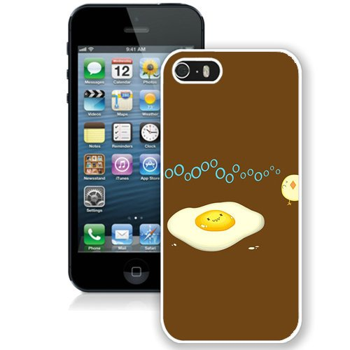 Coque,Fashion Coque iphone 5S Funny Egg No blanc Screen Cover Case Cover Fashion and Hot Sale Design