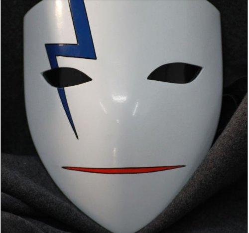 Darker Than Black Costume Mask (Darker Than Black Anime Mask Cosplay Costume Props Custom Made Smile)