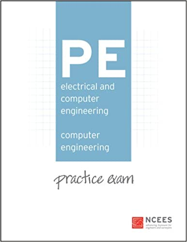 Pe electrical and computer engineering computer engineering pe electrical and computer engineering computer engineering practice exam ncees 9781932613544 amazon books fandeluxe Gallery