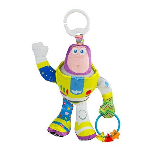 Lamaze Disney/Pixar Toy Story Clip & Go Buzz Lightyear Stroller Toy]()