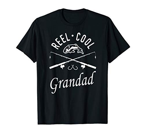 Fishing Dad Shirt Reel Cool Grandad Father's Day Gift Bday