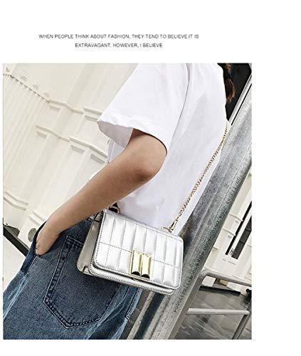 Bolso Plata hombro para mujer al HPASS 4w6xq4