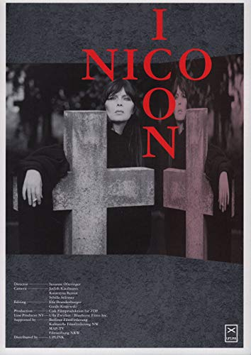 Nico Icon 1997 Japanese B5 Chirashi Flyer (Icon Unframed)