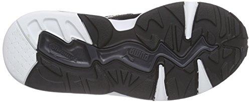 Puma R698 Mesh-Neoprene V Inf - Zapatilla Baja Unisex Niños Negro - Schwarz (black-dark shadow-white 07)