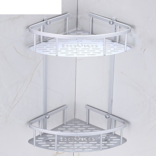 60%OFF Bathroom racks/Bathroom triangular basket stand-A
