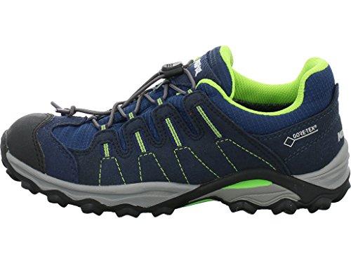 Bleu 49 Chaussures montantes 2002 marine Garçon citron pour Meindl YzO1wx5