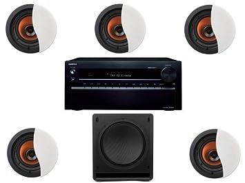 Klipsch CDT5800CII In-Wall System Onkyo TXNR828 #9: Amazon ca