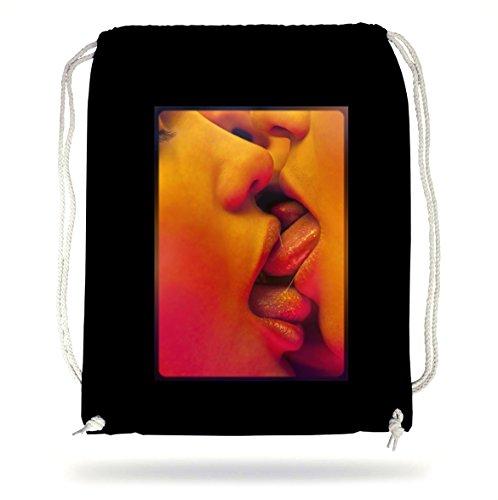 Group Kiss Gymsack Black Certified Freak N107El5i